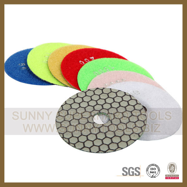 Diamond Flexible Polishing Pads for Stone