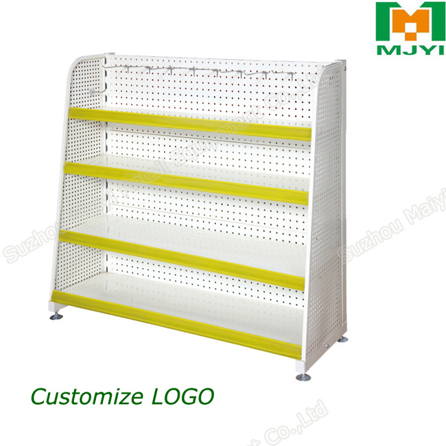 Steel Display Storage Rack Supermarket Shelf