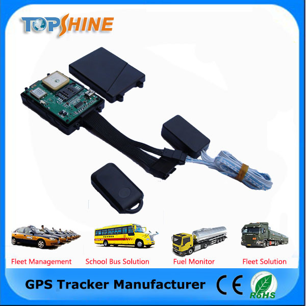 Built-in Antenna 3G GPS Tracker for Motorcycle Car Bus with RFID