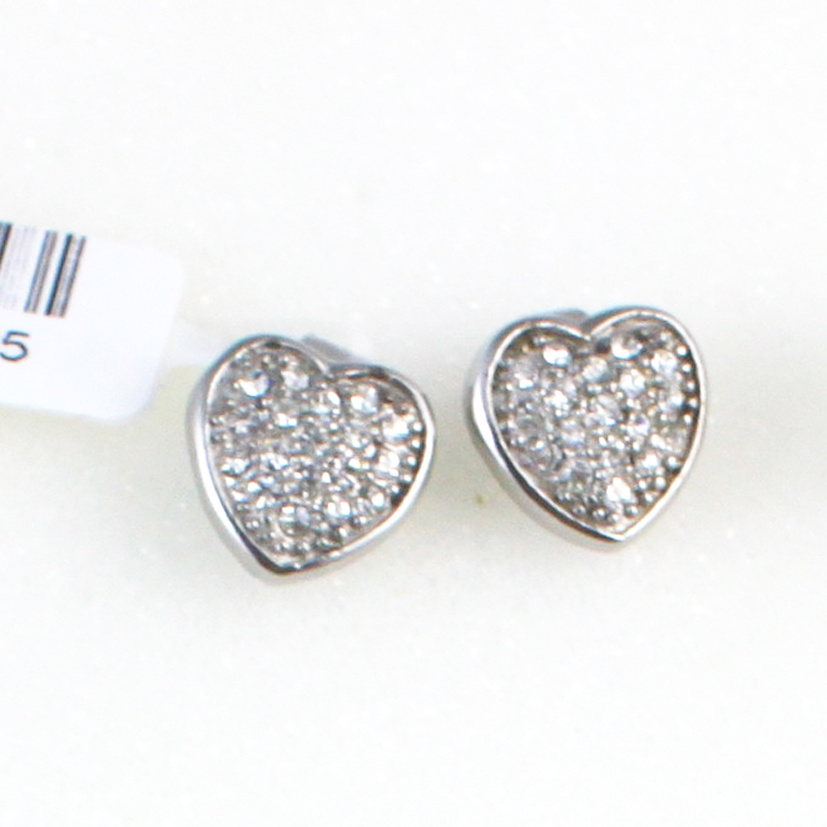 India Luxury Jewelry Sets Zircon Inlay 316L Stainless Steel Earring