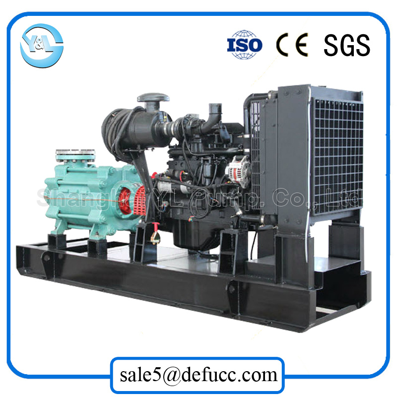 High Pressure Multistage Driven by Air Cooler Engine Pump