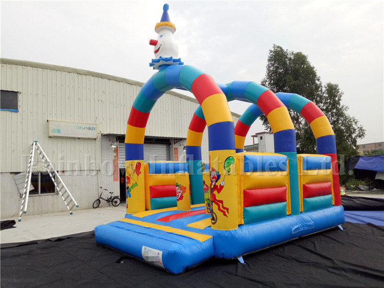 Inflatable Kids Products Children Game Inflatable Clown Bouncer