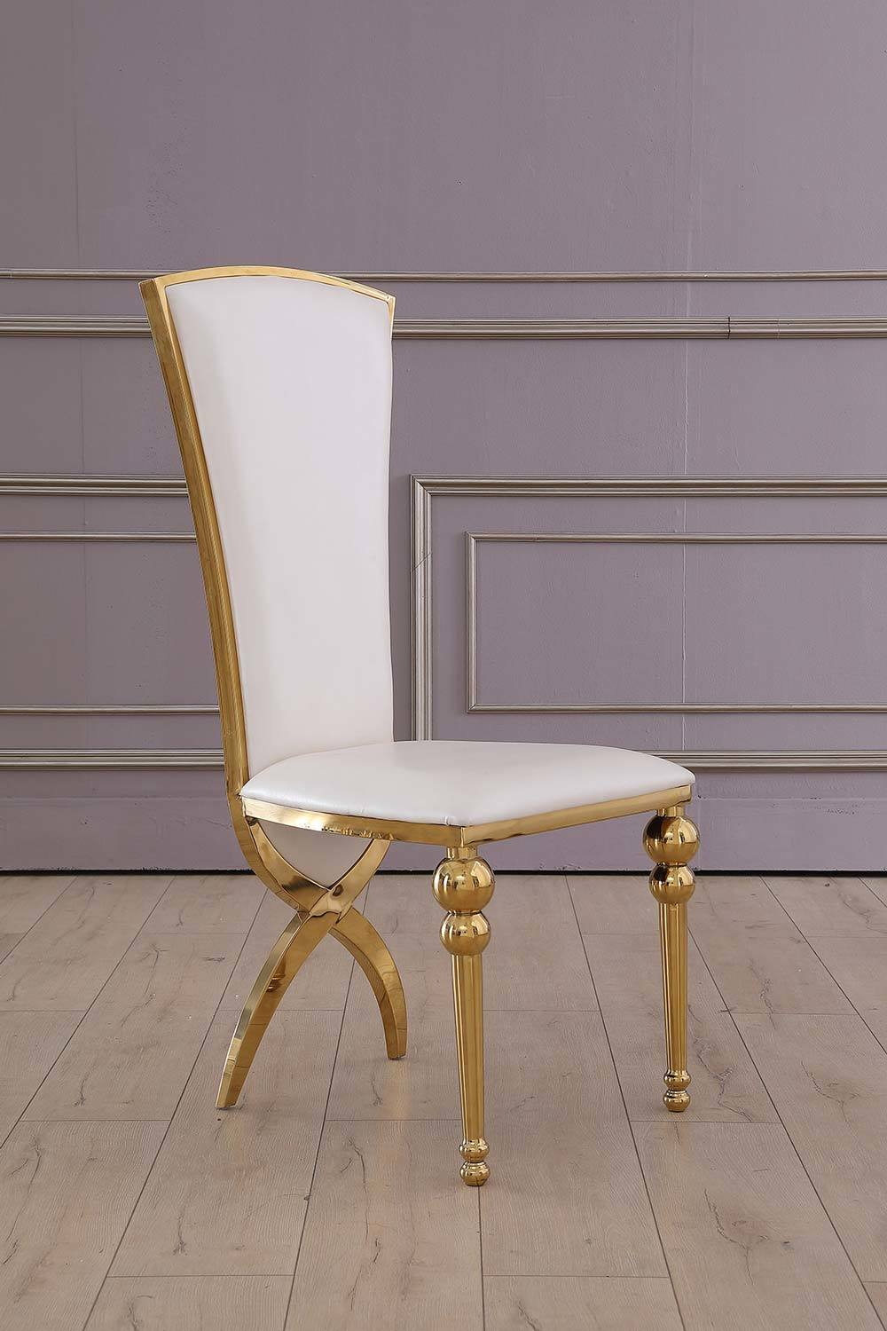 PU Cover Dining Chair Hotel Banquet Furniture