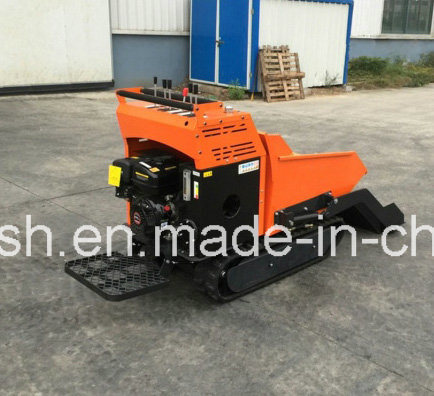 Fully Hydraulic 9HP, 500kgs Rubber Track Mini Dumper/Power Barrow/Muck Truck/Garden Transporter/Loader/Mini Transporter/Crawler Dumper/Wheel Barrow/Track Dumper