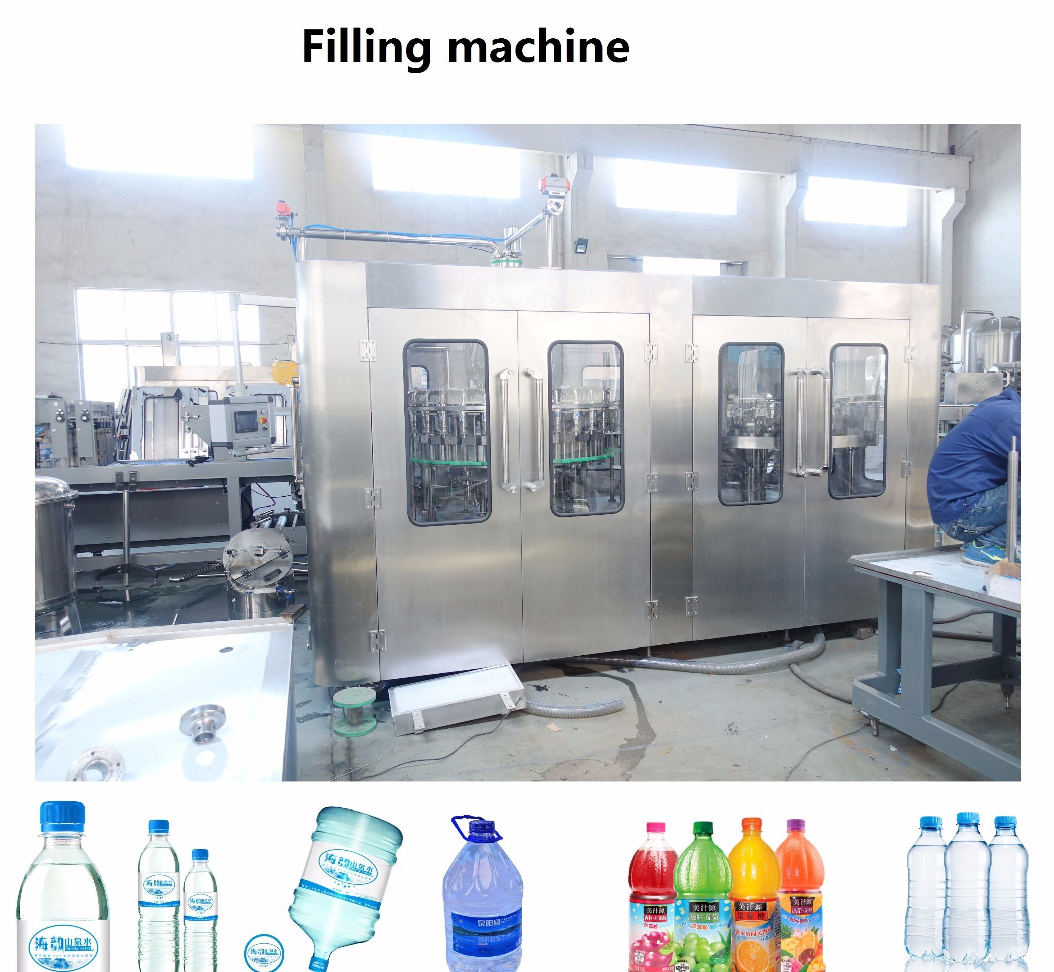 Juice Beverage Complete Filling Processing  Machine Line for Orange Mango Apple Pineapple