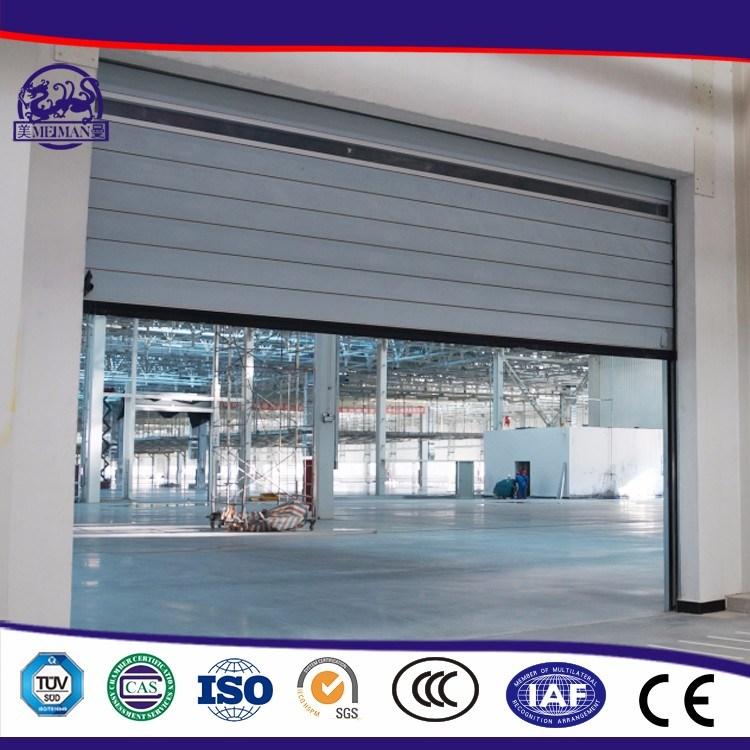Turbine Motor Metal High Speed Industrial Door/High Speed Roll up Door/PVC Roll up Door