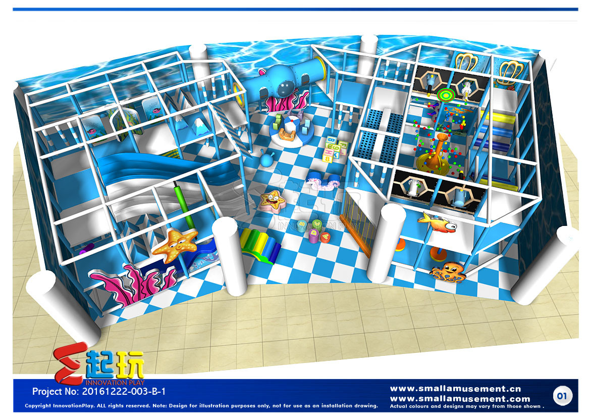 Customized Indoor Playground Equipment