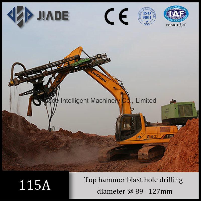 Jd115A Montabert Drill Bit Excavator Drill Attachment
