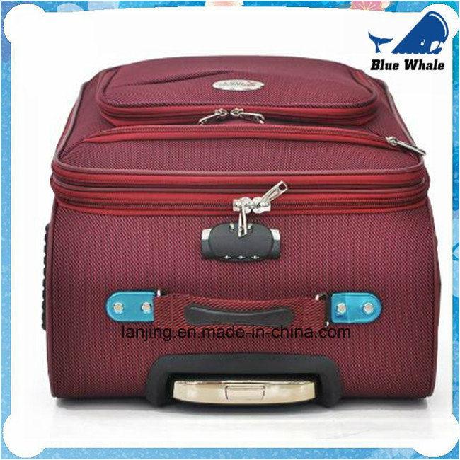 Big Capacity Waterproof Nylon Bag Trolley Wheeled Travelling Luggage