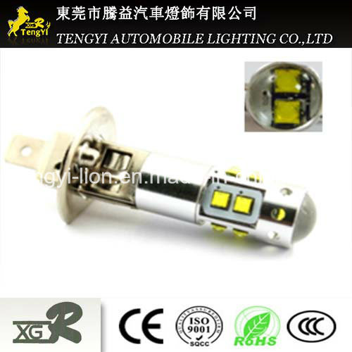 50W LED Car Light High Power LED Auto Fog Lamp Headlight with 880/881 T20, H1/H3/H4/H7/H8/H9/H10/H11/H16 Light Socket CREE Xbd Core