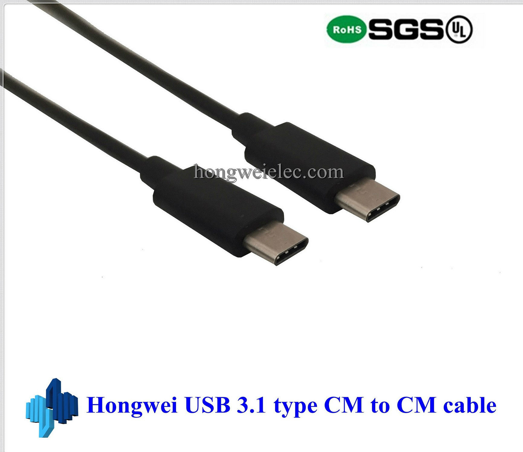 USB 3.1 C to Type C Cable