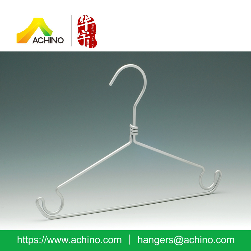 Aluminum Kids Clothes Hanger with Notches