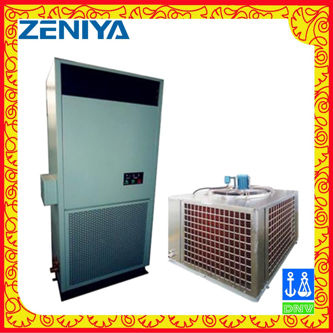 Air Cooled Split Air Conditioner Cabinet Air Condtioner