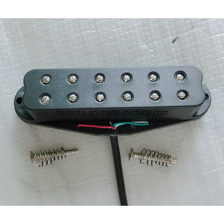 12 Pole Screw High Output Dual Coil Single Guitar Pickup