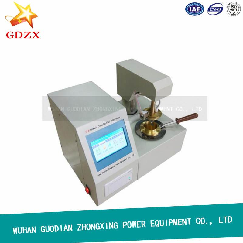 Automatic Closed Cup Flash Point Tester