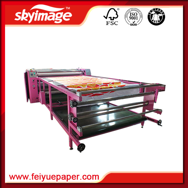 Roll to Roll Sublimation Heat Transfer Machine 420*1900mm for Sublimation Textile Tranfer