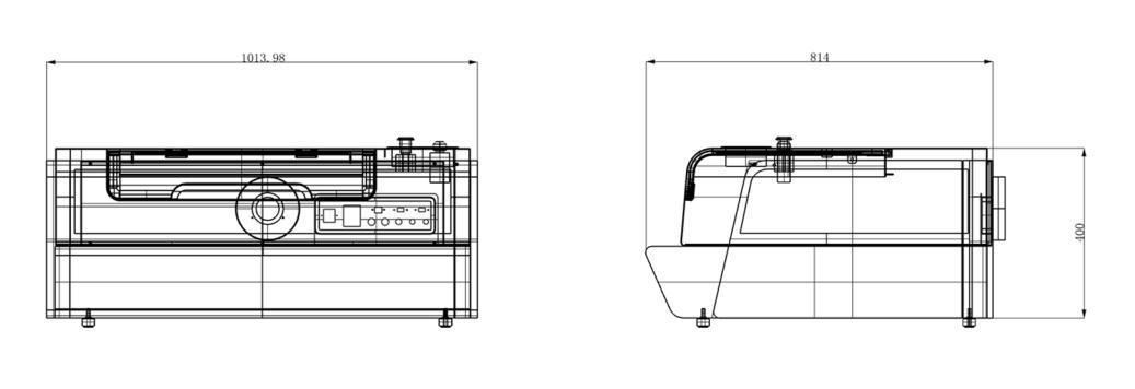 Mini Desktop Engraver Laser Engraving with Ce FDA