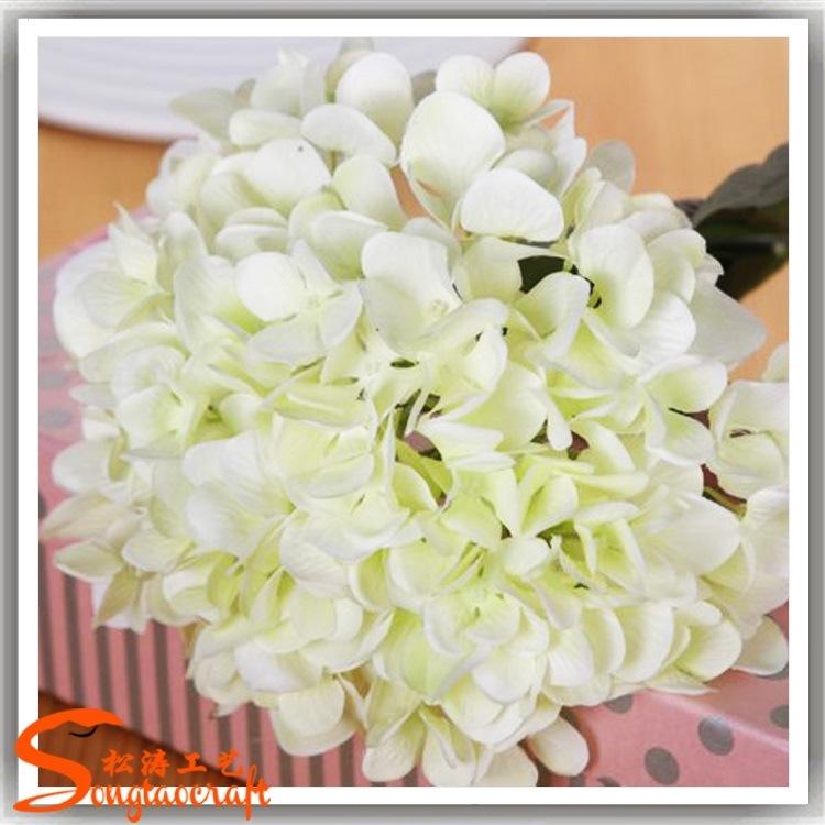 Wedding Decorative Artificial Silk Hydrangea Flower