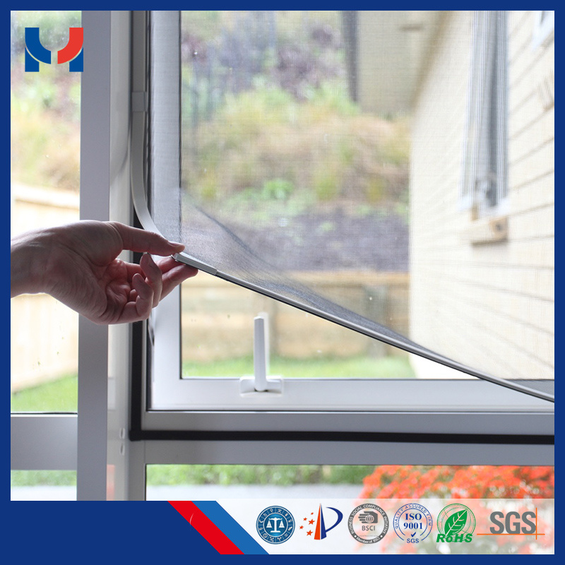 PVC Tube Thickened Magnetic Mesh Window Screen