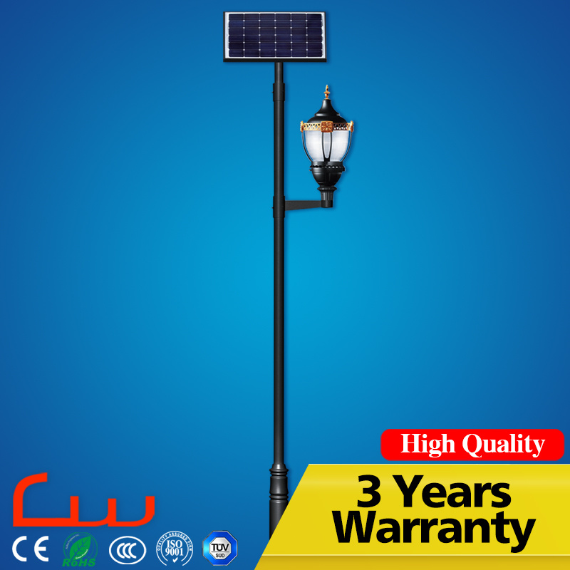 CCC Ce RoHS TUV Solar Light LED Garden Light