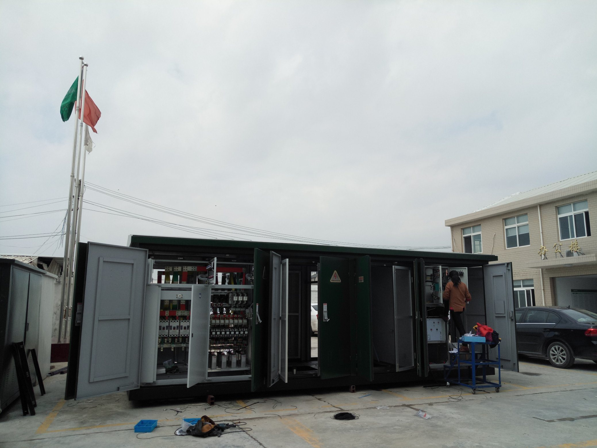 Yb Mv / LV Prefabricated Substation