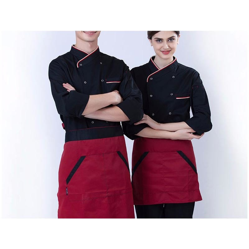 High Grade Manufacturer Work Design Chef Uniform with Cotton