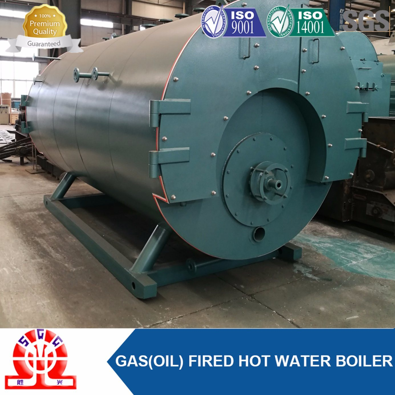 Industrial Oil Gas Boiler with Burner
