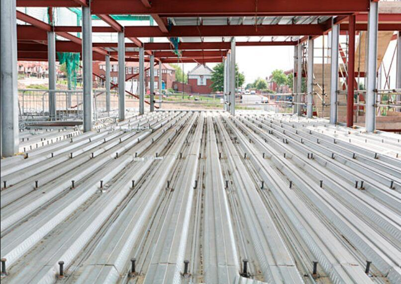 Galvanized Floor Decking Sheet for Steel Construction