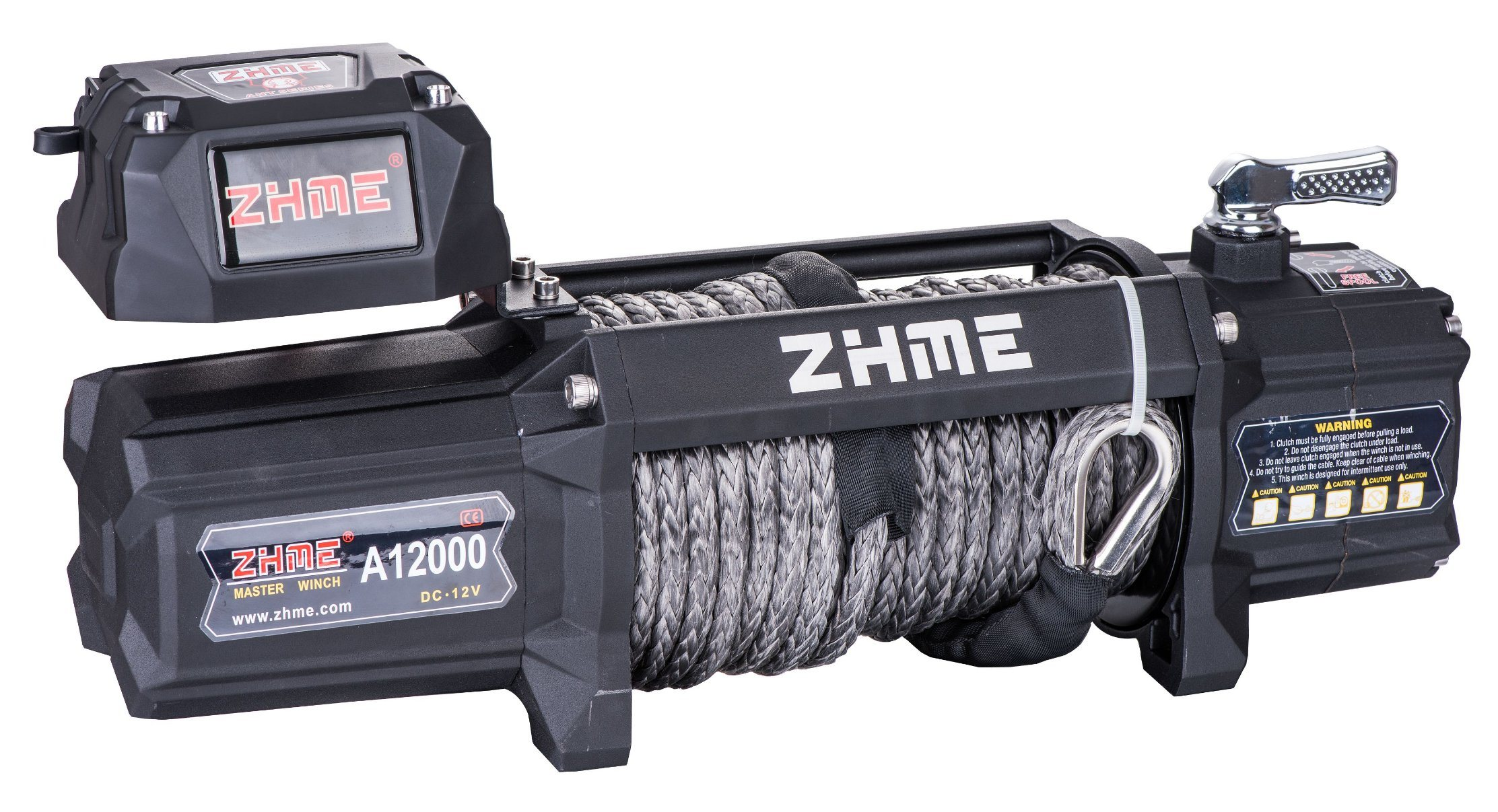 12V Truck Winch with 12000lbs Pulling