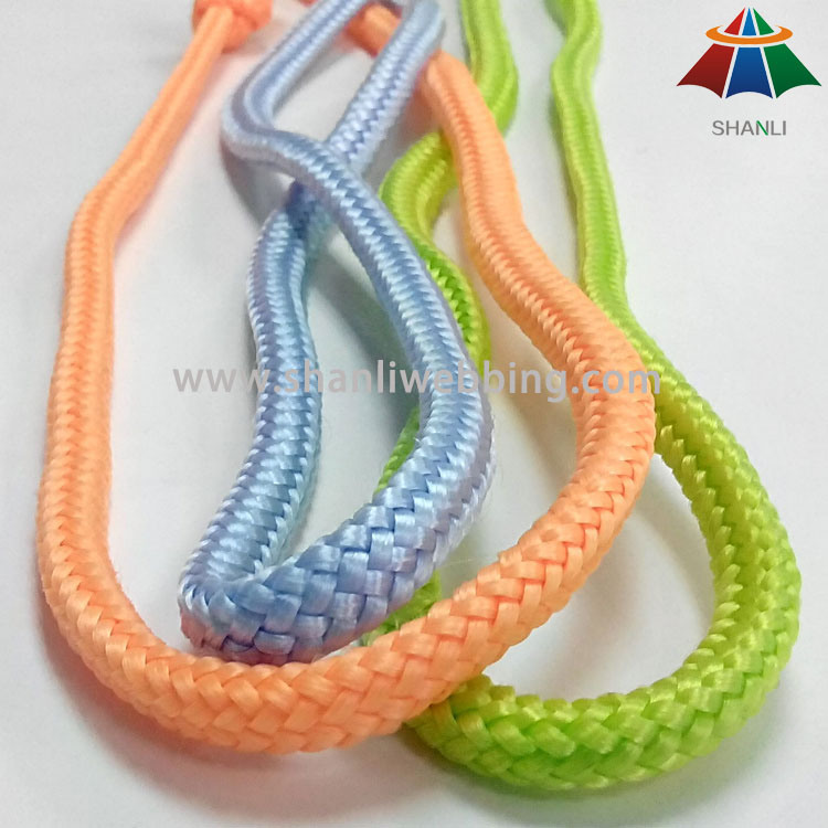Mixed Color Striped Braided PP/ Polypropylene Rope