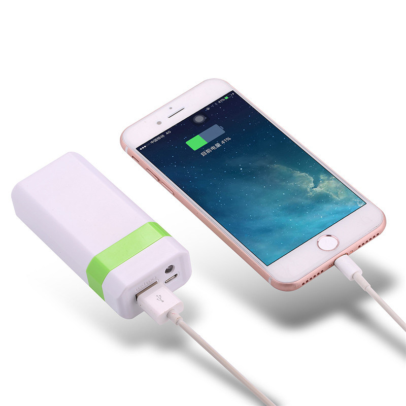 4000mAh Portable Power Bank Mobile Power Charger with LED Light