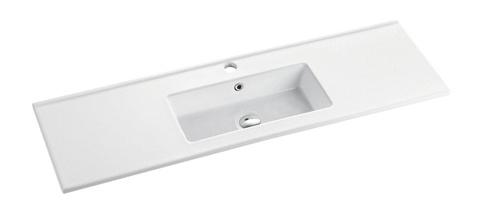 Feather Edge Basin Cabinet Sink (MINI-120)