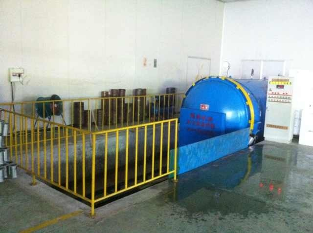 Vacumme Conditioning and Heat Setting Machine (QZD)
