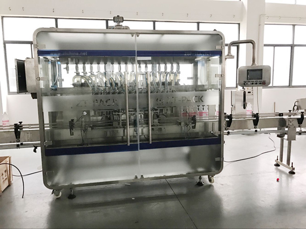 Automatic Shampoo/ Detergent Jam Liquid Filling Machine