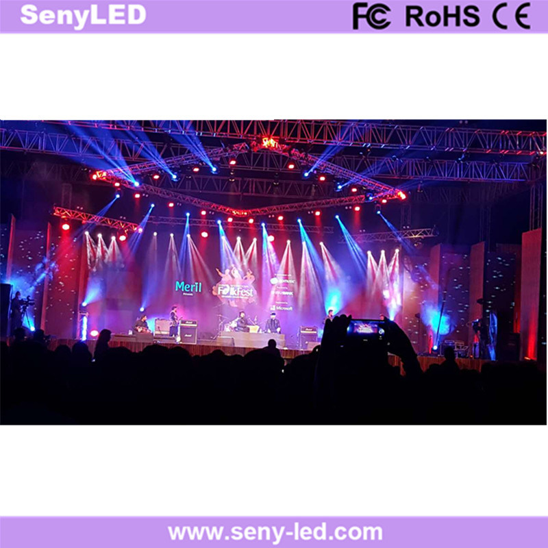 Rental Purpose Stage Video Show Full Color LED Display Screen (P5mm)
