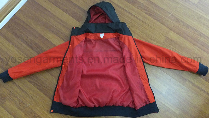 Ladies Outdoor Waterproof Rain Clothing Pilot Jacket (OWS14)