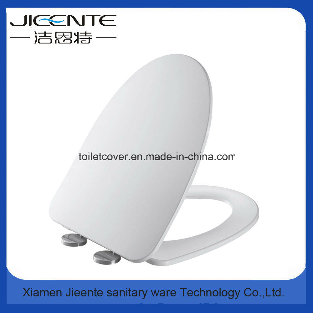 Elongated Toilet Seat Cover V Shape Slow Down