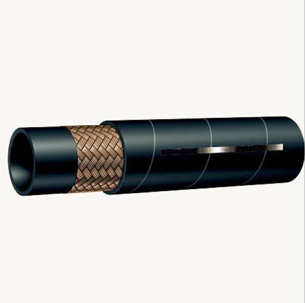 SAE 100r1 Steel Wire Reinforced Rubber Covered Hydraulic Hose