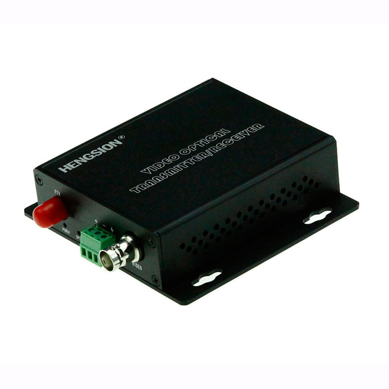 1 Channel Video & 1 Reverse RS485 Data Fiber Transmitter