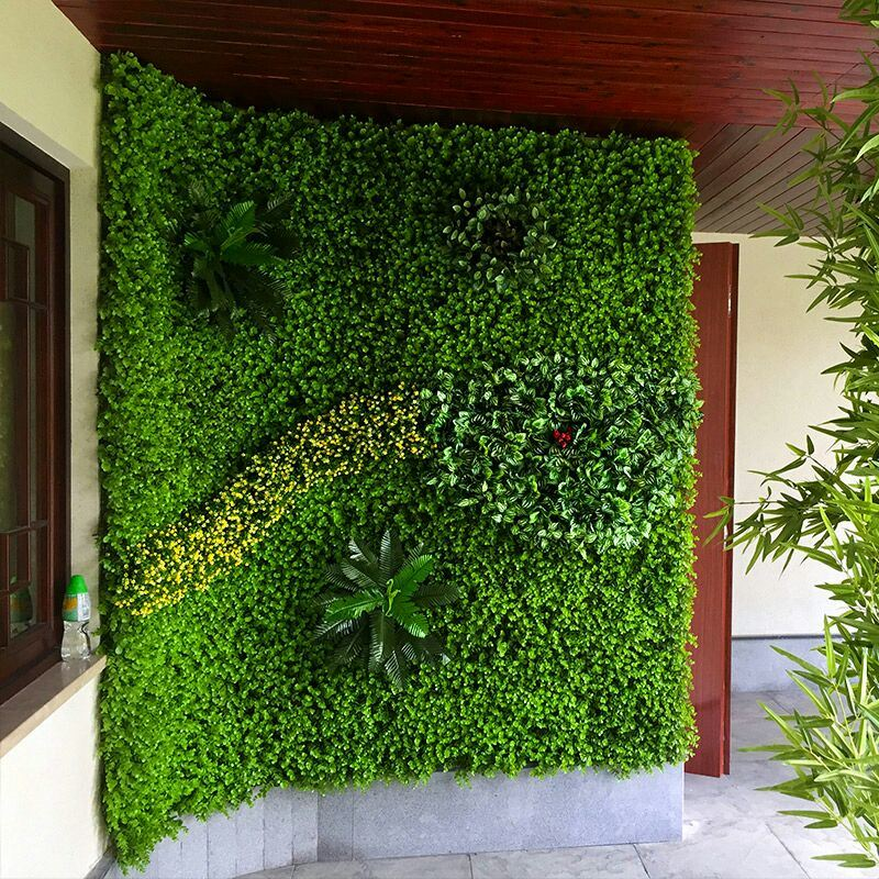 Vertical Grass Screen for Wall Craft Decoration Material