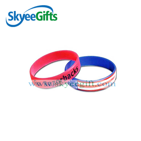 Custom Silicone Bracelet Debossed Silicone Wristband with Logo