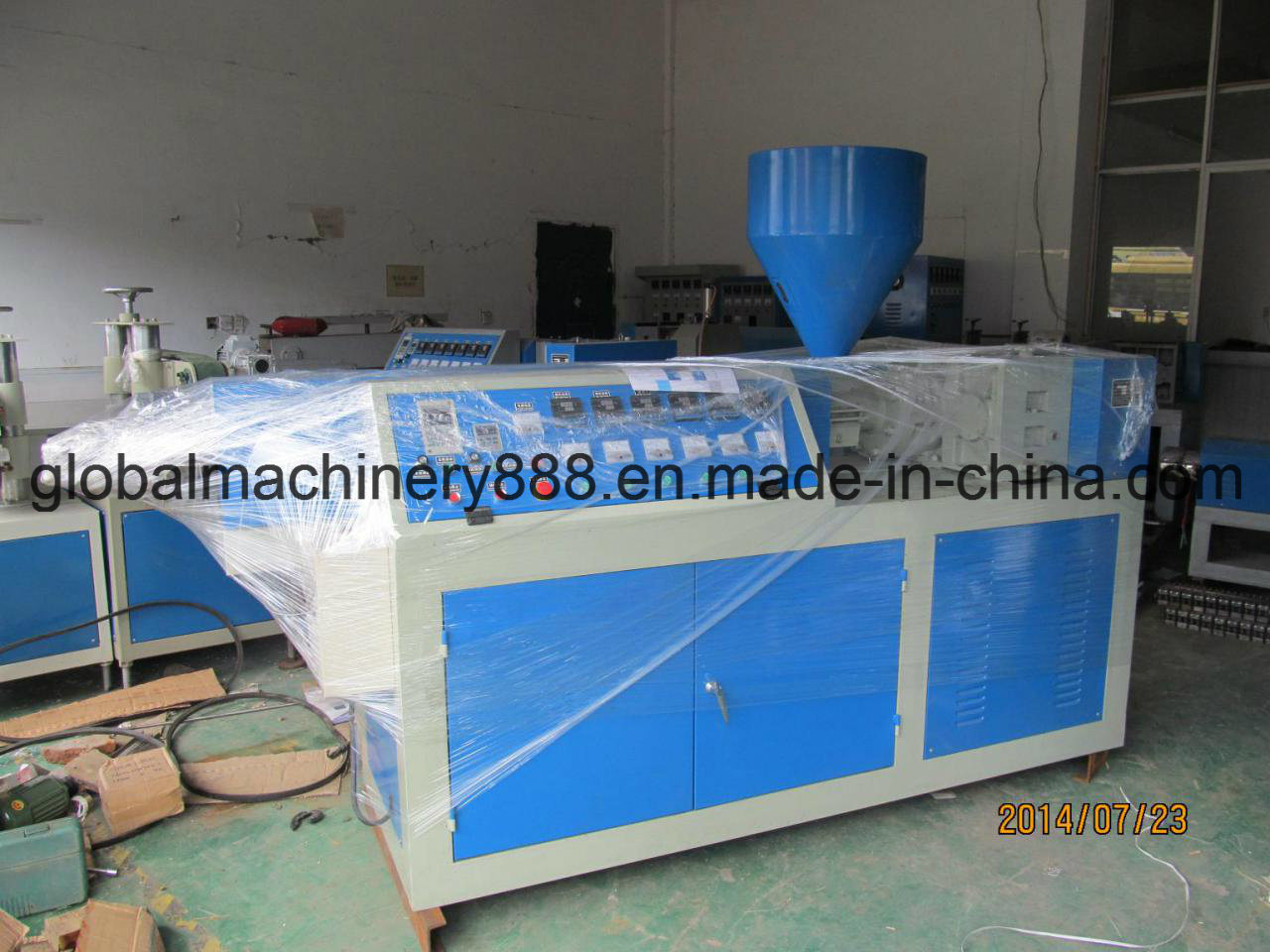 PVC Coated Flexible Metal Conduit Machine
