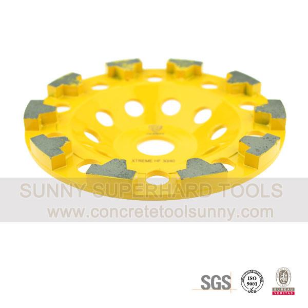 Turbo Diamond Cup Grinding Wheel for Concrete Stone Terrazzo