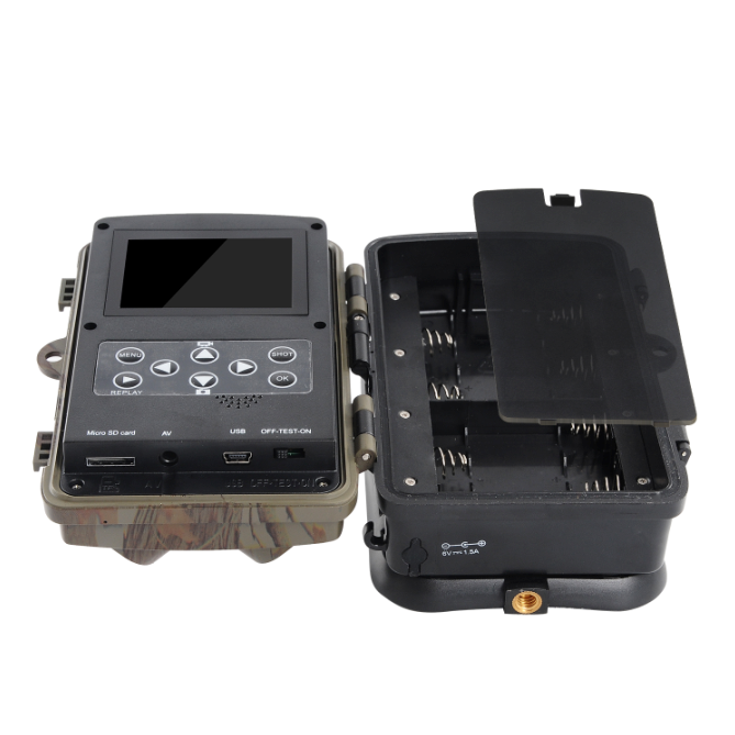 12MP IP56 Waterproof Wild Camera for Hunting and Security