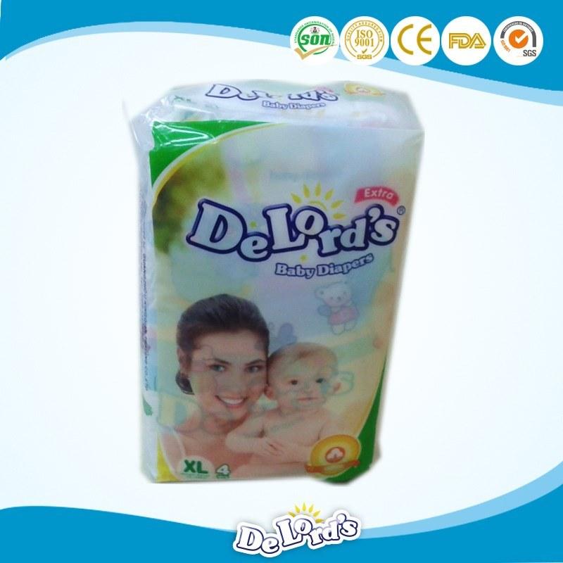 Manufacturer Supplier Super Soft Disposable Cotton Baby Diaper