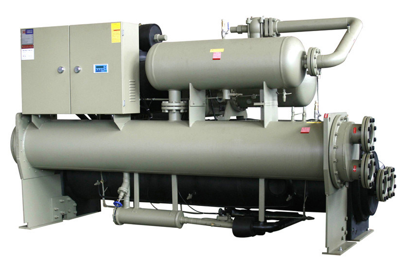 Water-Cooled Screw Flooded Chiller with R22 Refrigerant