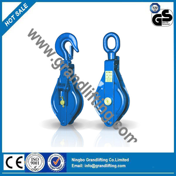 Dy Type Double Wheel and Single Wheel Snatch Pulley Block
