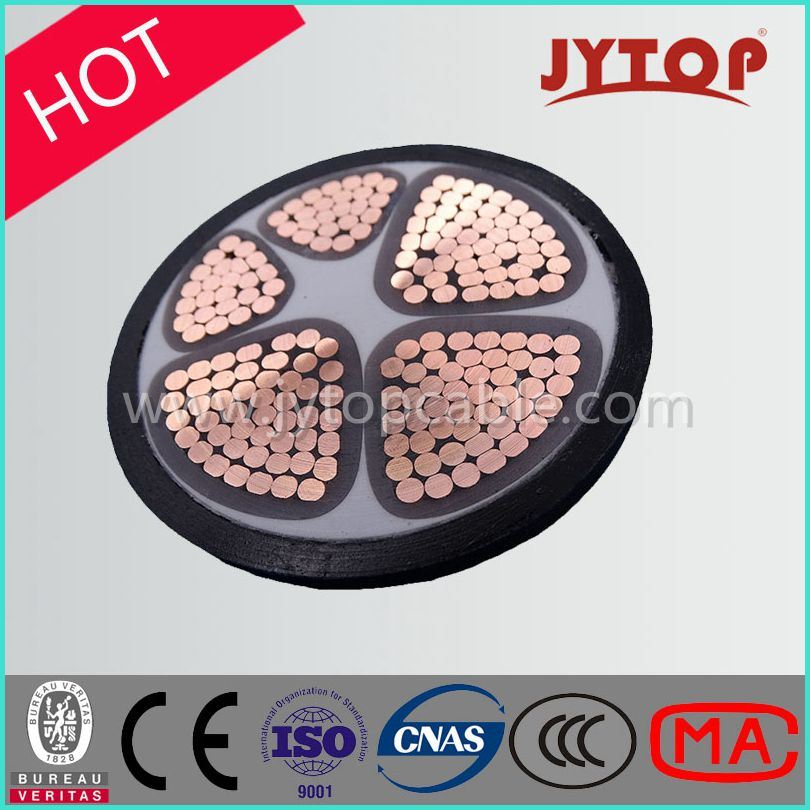 5 Core Multicore Copper Conductor XLPE Insulation Power Cable