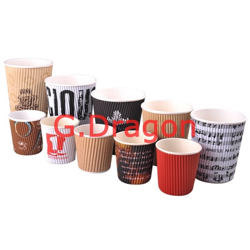 To Go Paper Cups for Hot or Cold Drinking (RPC-005)