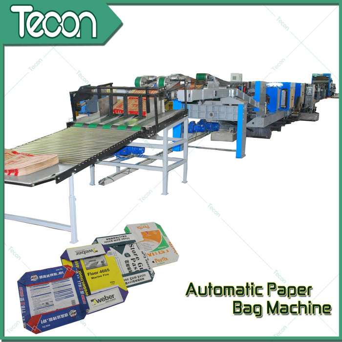 High-Speed Automatic Valve Pasted End Bag Making Machine